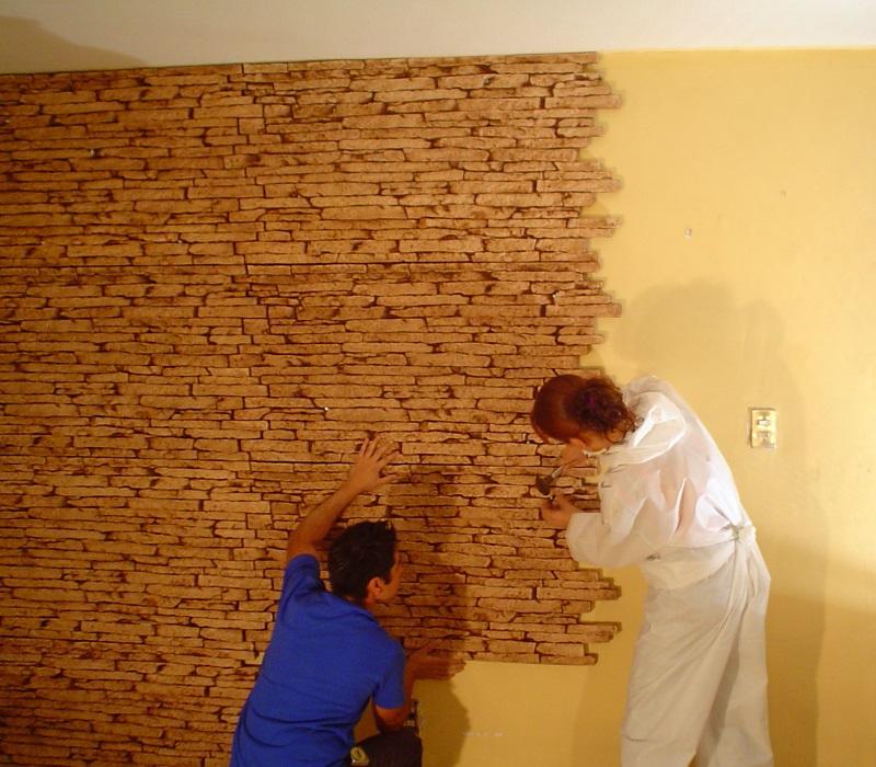 Paneles decorativos revestimiento de pared - Molduras para paredes exteriores ...